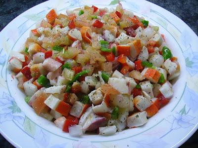 Salpic n de pulpo con bocas de mar cocinar en casa es for Cocinar pulpo