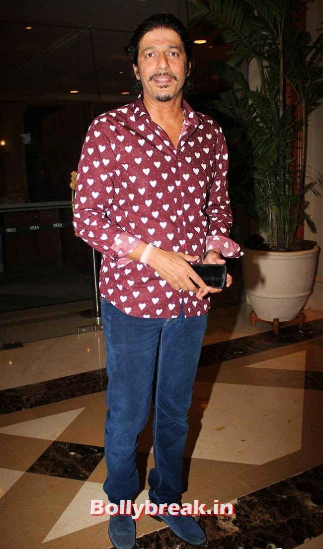 Chunky Pandey, Vashu Bhagnani's Puja Films 25 Film Completion Party