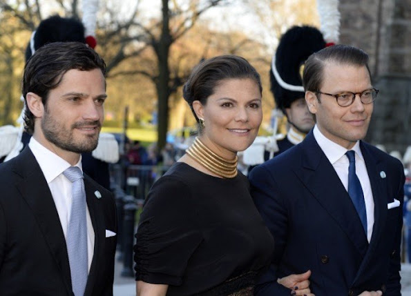 Crown Princess Victoria and Prince Daniel of Sweden, Prince Carl Philip of Sweden, Princess Madeleine of Sweden and her husband Christopher O'Neill,