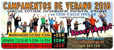 Campamentos de Verano en Vigo - COLEGIO VALLE INCLÁN