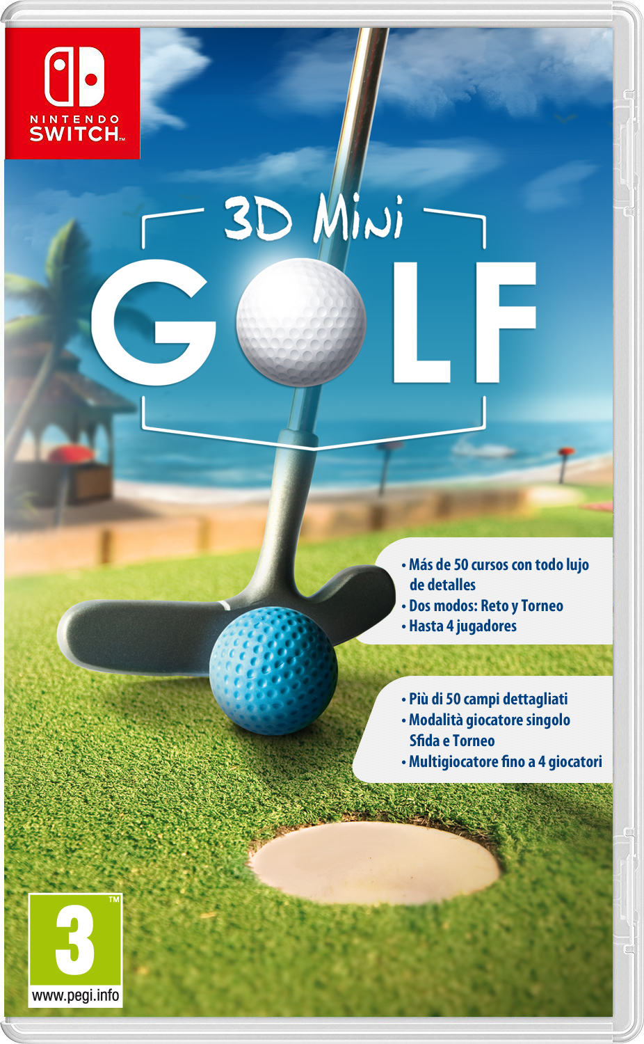 Se anuncia 3D Mini golf para Nintendo Switch