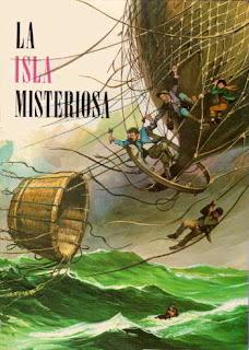 Portada del libro La isla misteriosa para descargar en pdf gratis