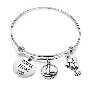 Stephen King It Charm Bracelet, Stephen King Gifts, Stephen King Merchandise, Stephen King Store