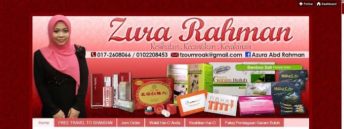 Tempahan Design Blog Zura Rahman