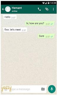 Cara membuat percakapan Palsu di Whatsapp, Begini caranya