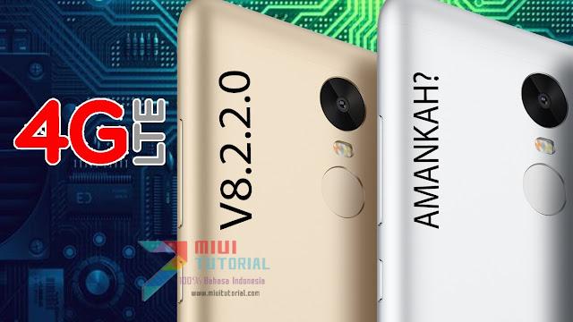 Amankah Pengaturan 4G LTE Xiaomi Redmi Note 3 PRO Jika Update ke Rom Miui 8 v8.2.2.0? Aman Kok! Ini Cara Memunculkannya Lagi!