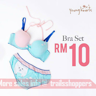 Young Hearts Lingerie Super Big Deal Warehouse Sale 2017
