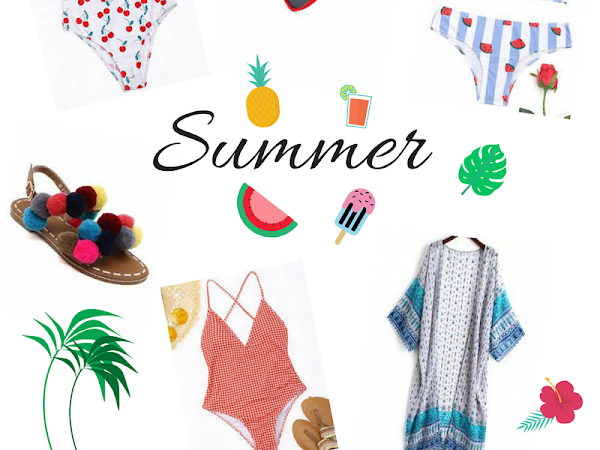 Getting ready for the beach - swimsuits & coverups