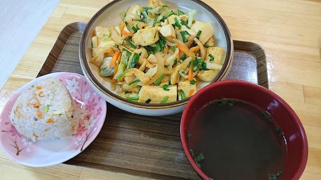 豆腐チャンプル定食の写真