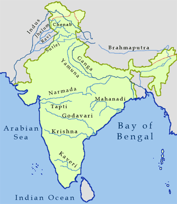 Historical Top Longest Rivers In India - Top 10 longest rivers