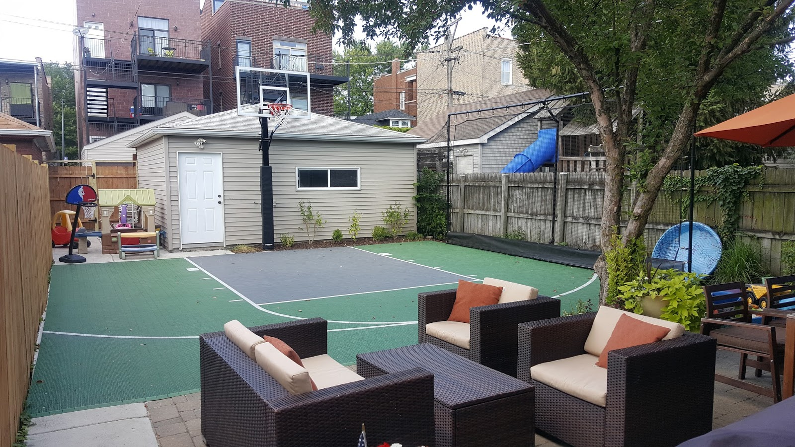 the chicago real estate local we built a chicago backyard