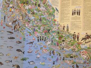 dalmacija, hrvatska, split, ilustracija, makarska, jadran, jadransko more, orada, pelikan, zadar