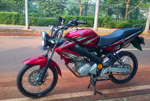 Modifikasi Motor Yamaha Vixion Velg Jari-Jari