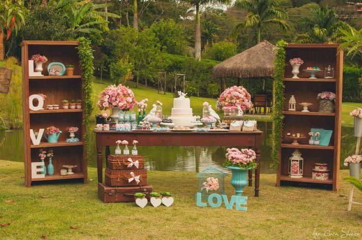 dicas como fazer um casamento vintage ar livre