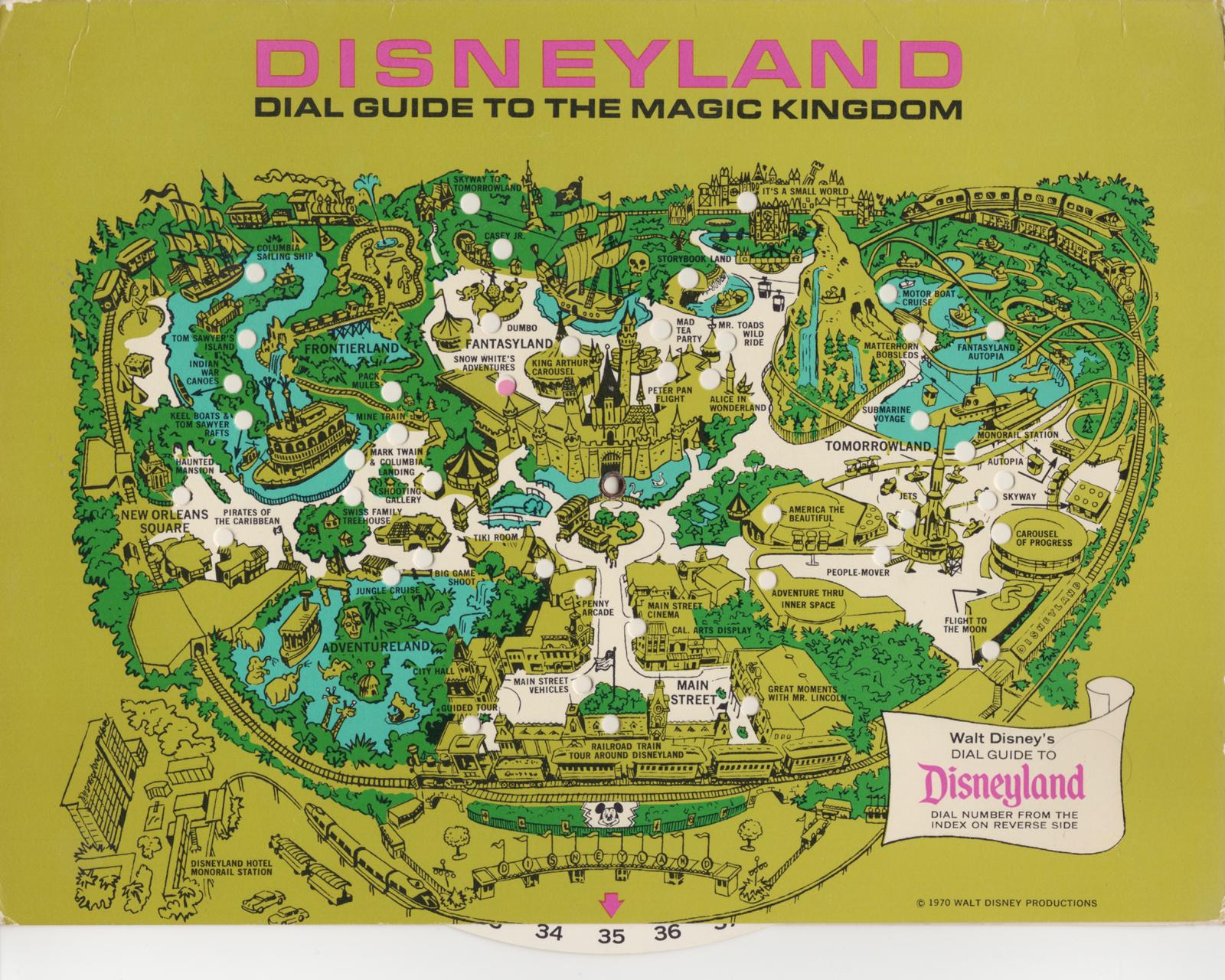 Filmic Light Snow White Archive Disneyland Dial Guide To - Disneyland brazil map