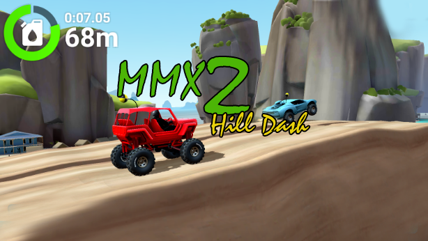 MMX Hill Dash 2 Mod Apk Beta Version/Unlimited Money
