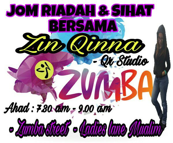 Senam Zumba di Ladies Lane Muallim