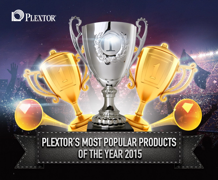 Plextor's Most Popular Products of the Year 2015