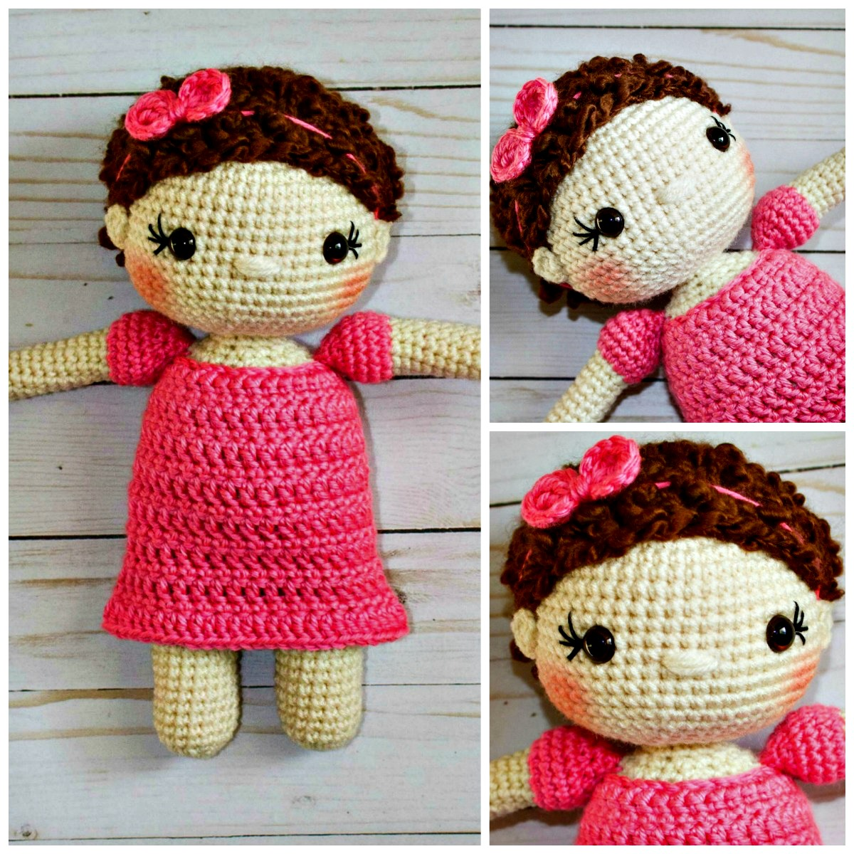 Free Crochet Doll Pattern- The Friendly Mae