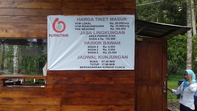 INFO HARGA TIKET MASUK KAWAH PUTIH NOVEMBER - DESEMBER 2016