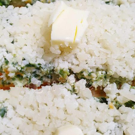 canelones gratinados con crema de espinacas