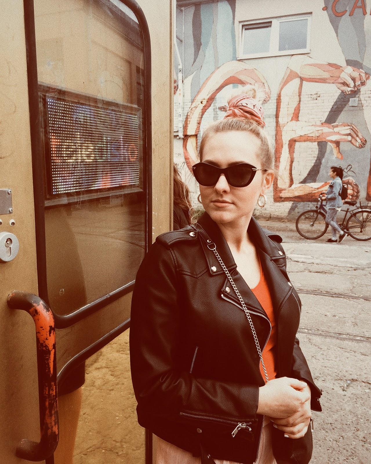 Uliczna modna w Berlinie