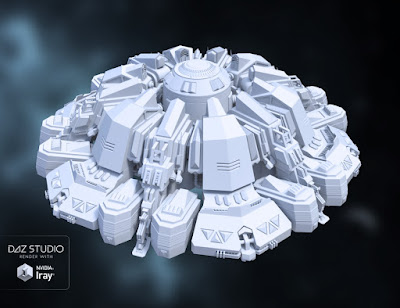 Sci-fi UFO
