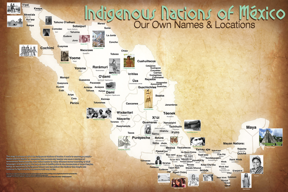 White Wolf : Oklahoma man creates map of Native American ...