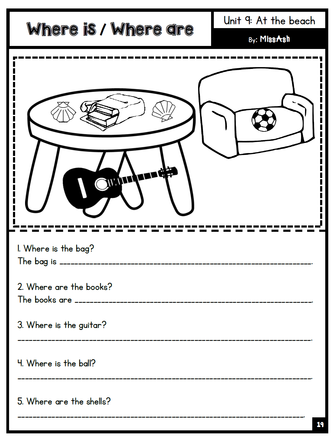 Ash The Year 2 Supplementary Worksheets Unit 5 9 $ Www