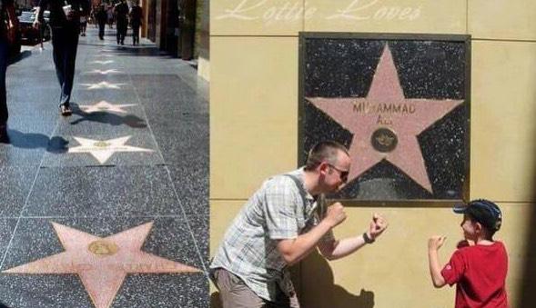 Muhammad Ali Menjadi Satu-Satunya Bintang Yang Tidak 'Dipijak'