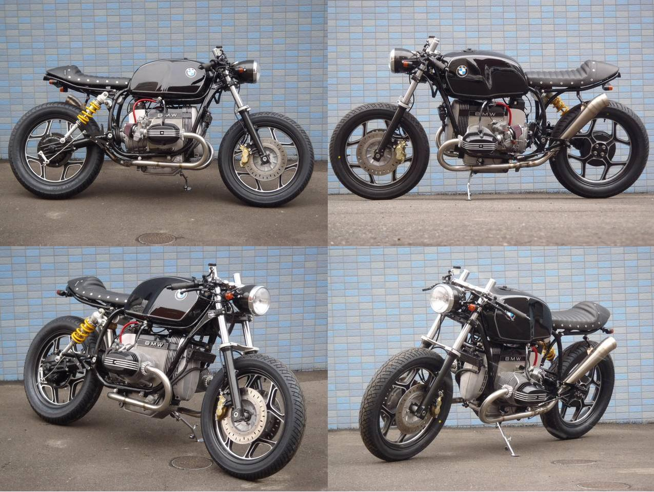 cafe racers and metric motorcycles freaks in the world.: 2013