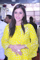 Mannara Chopra Looks Cute in Yellow Salwar Suit ~  Exclusive 48.JPG