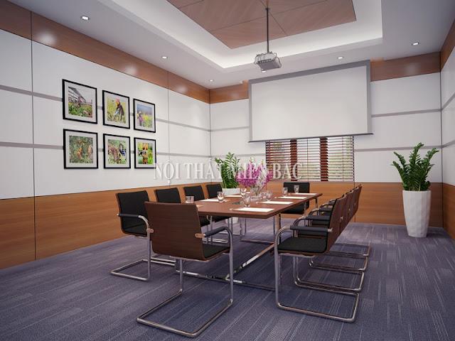 Để các nhân sự có thể thăng hoa tối đa trong cuộc họp, những yếu tố sáng tạo trong thiết kế nội thất phòng họp là không thể thiếu