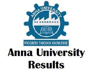 Anna University Degree Exam Results 2017 Nov-Dec