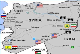 Les États-Unis préoccupés par le sort de leurs bases militaires en Syrie