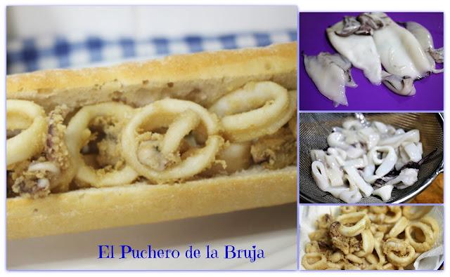 Bocata De Calamares.