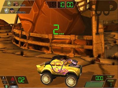 車禍現場(Fender Bender),結合戰鬥射擊的賽車遊戲!