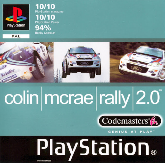 Colin McRae Rally 2.0 - PSX - Portada