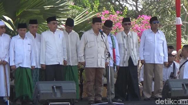 Hadiri Hari Santri, Prabowo: Resolusi Jihad NU Bagian Penting Sejarah