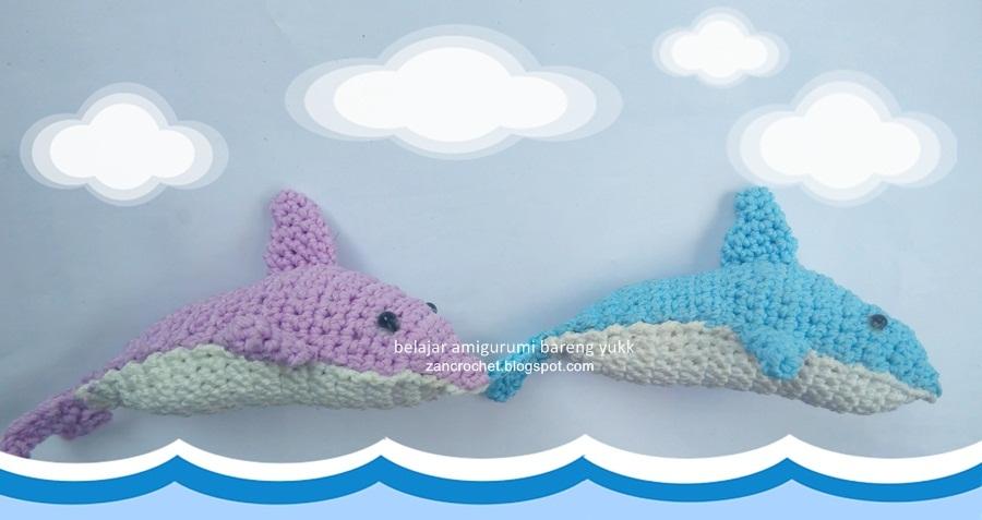 Dolphin Zan Crochet