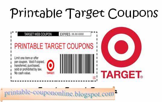 Target apparel coupons 2018