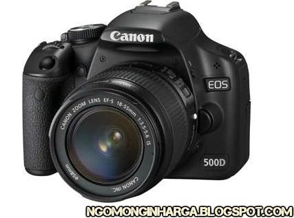 Kamera Canon EOS 500D Kit
