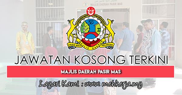 Jawatan Kosong Terkini 2019 di Majlis Daerah Pasir Mas