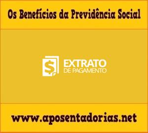 Previdência Social: Extrato de Pagamento pela Internet