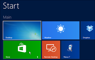 Updates Windows 8 to windows 8.1