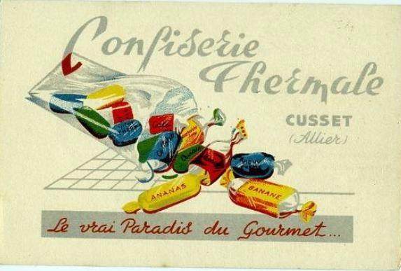 Regards et Vie d'Auvergne: Publicités Anciennes d'Auvergne en couleurs.
