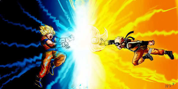 Dragon Ball VS Naruto Mugen Battle PC game