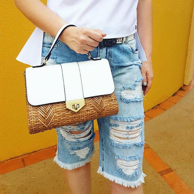 bermuda jeans, bermuda jeans com salto alto, bermuda com scarpin, look fashion, blog de moda, blogueira de moda em ribeirão preto, fashion blogger, blog de dicas de moda, o melhor blog de dicas de moda, blog de dicas de moda