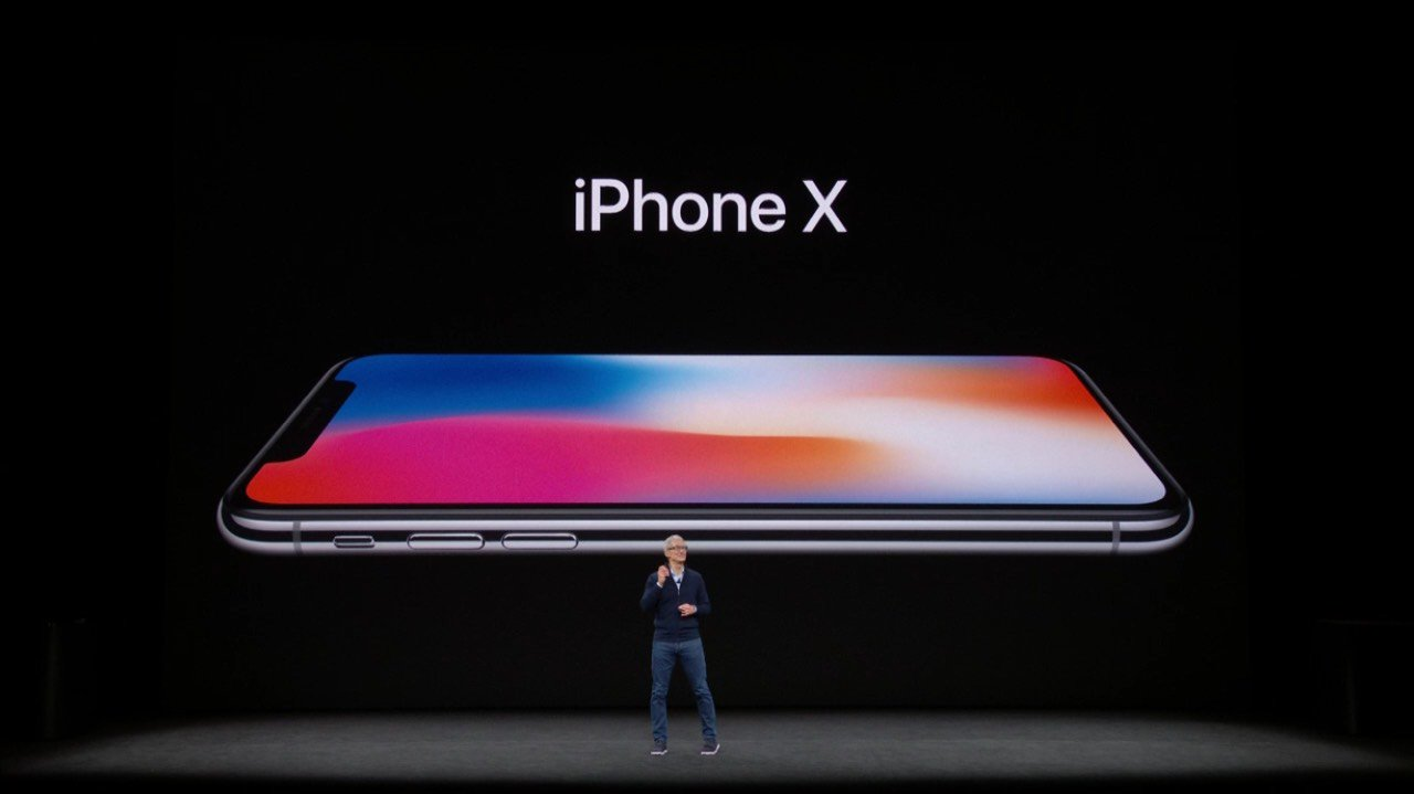 Apple Introduces IPhone X With Edge-to-edge OLED Screen