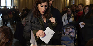 Voter turnout in Catalonia up sharply compared to 2015
